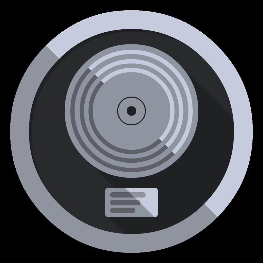 Logic Pro X flat icon