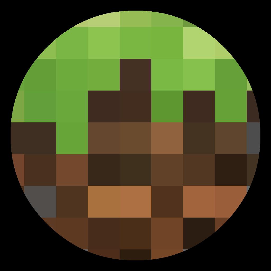 Minecraft flat icon