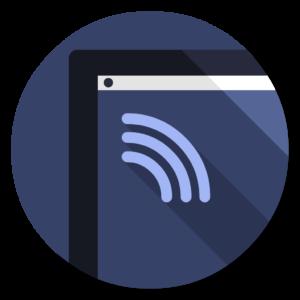 Folder – Network flat icon