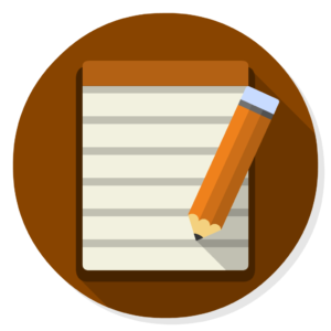 Notes flat icon