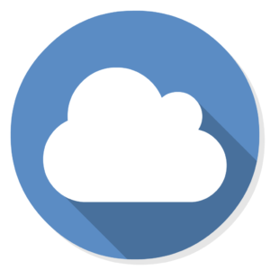 Owncloud flat icon