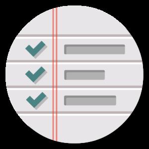Reminders flat icon
