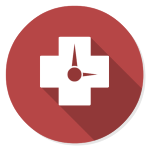 RescueTime flat icon