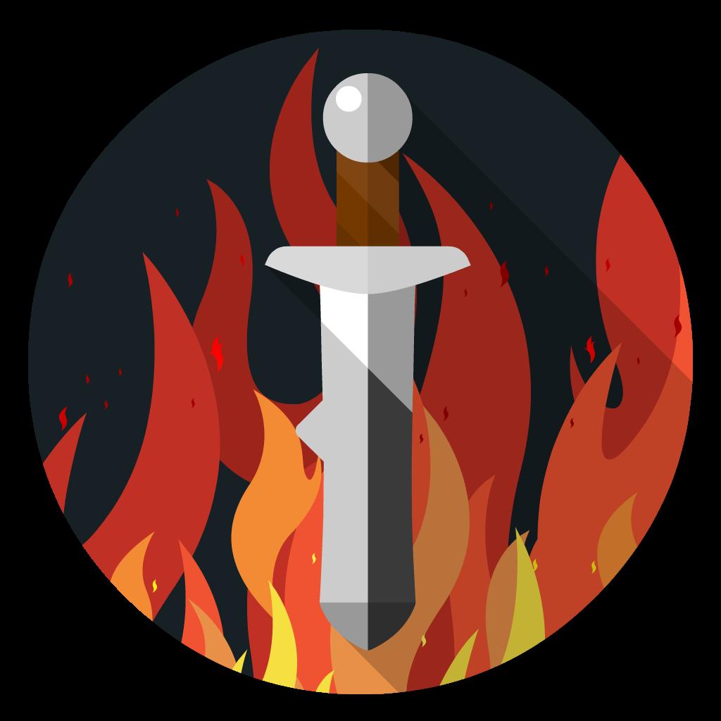 RuneScape flat icon