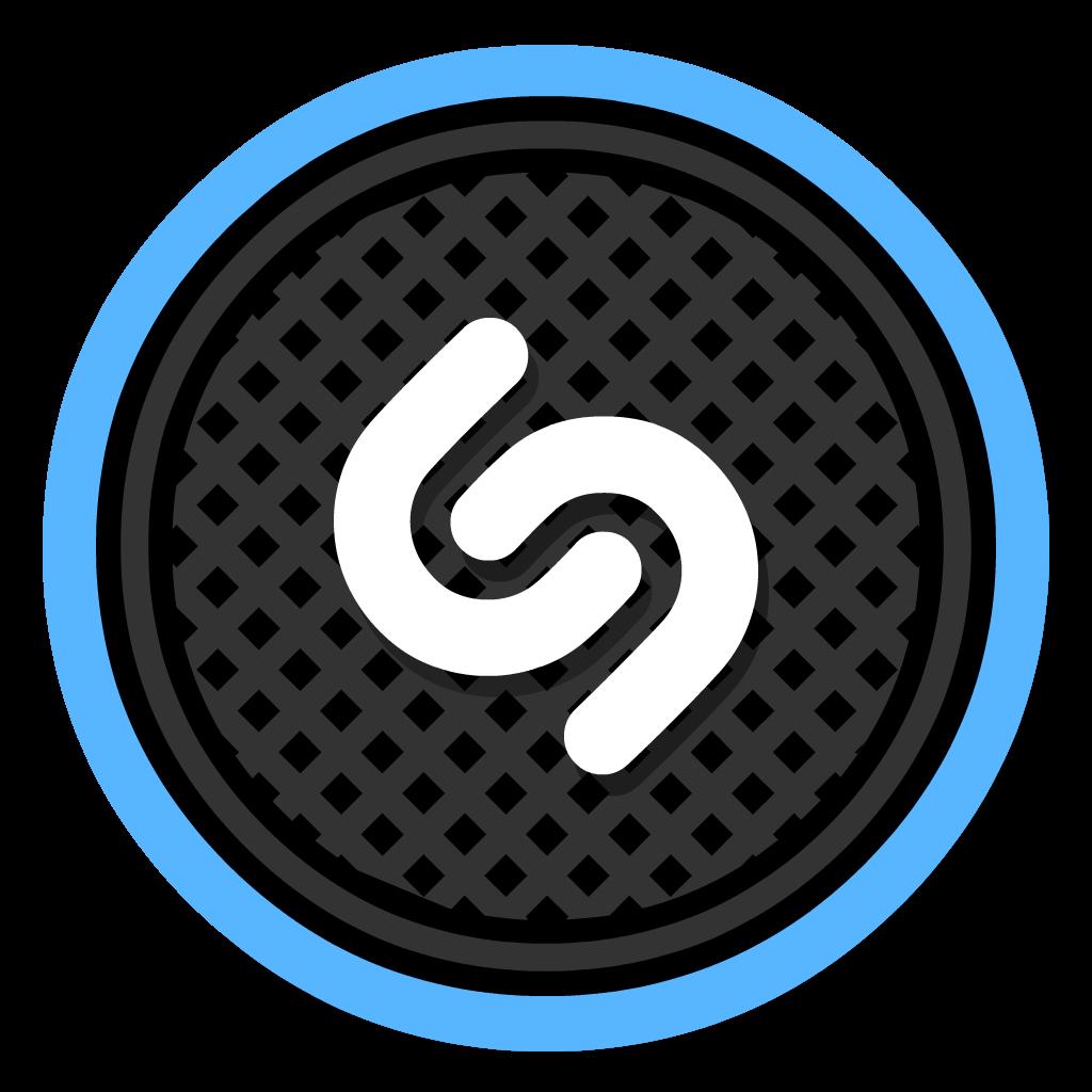 Shazam flat icon