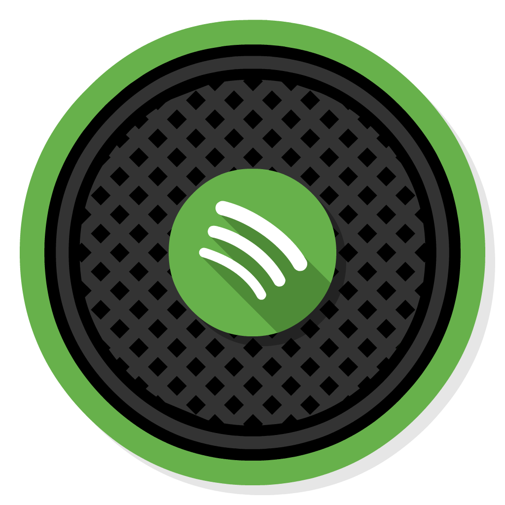 Spotify flat icon