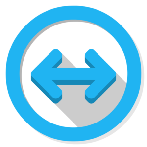 Teamviewer flat icon