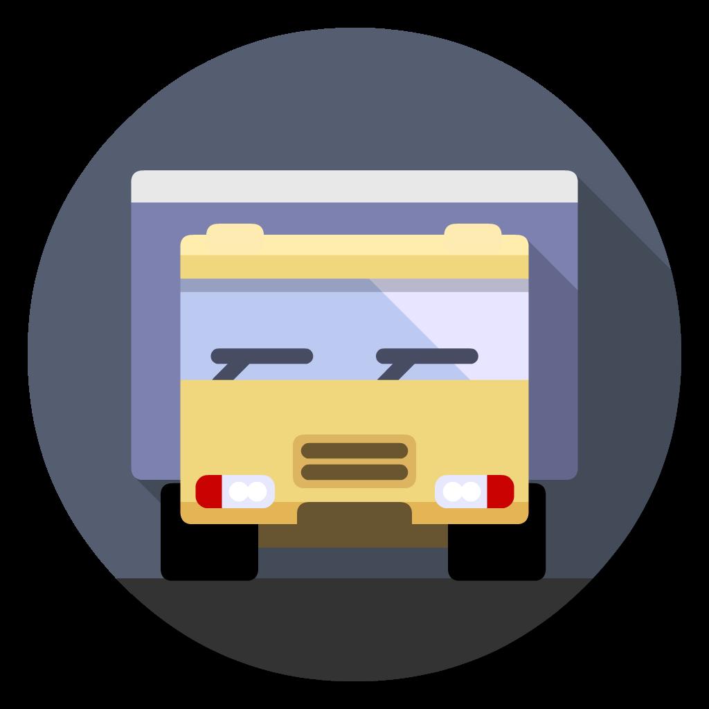 Transmit flat icon