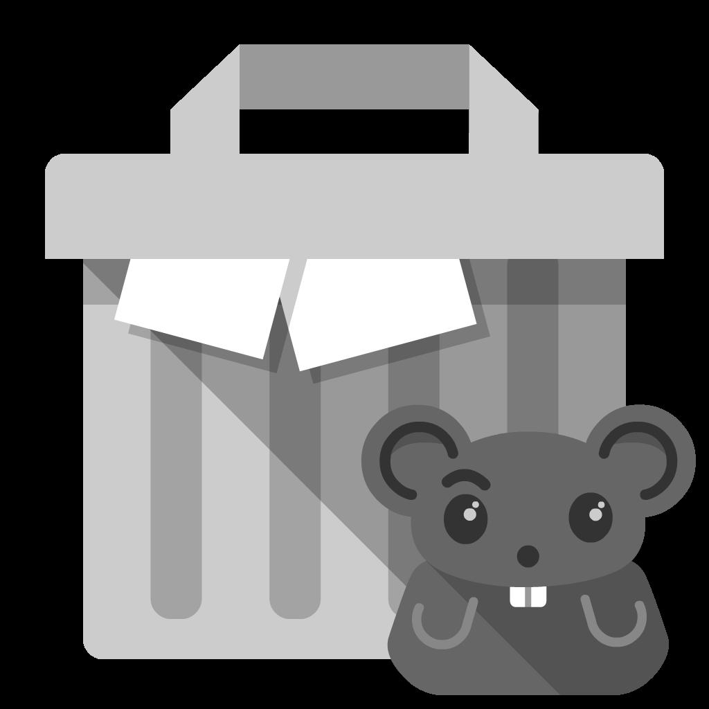 Trash-Full flat icon