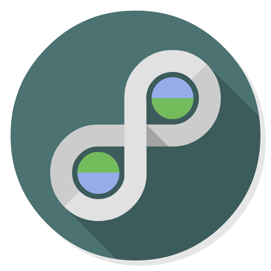 Trillian flat icon