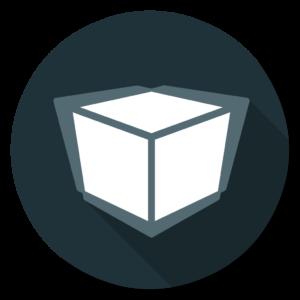 Unity flat icon
