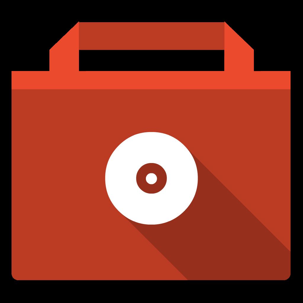 Burnable flat icon
