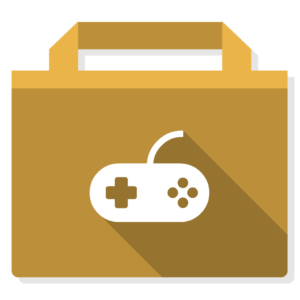 Games flat icon