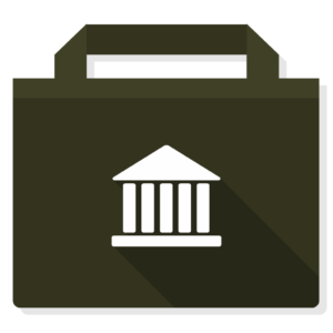 Library flat icon