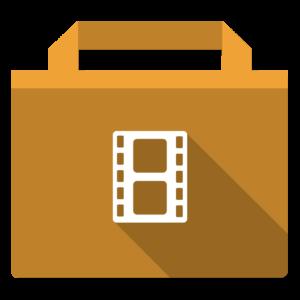 Movies flat icon