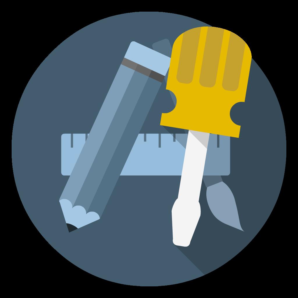 Developer Xcode flat icon