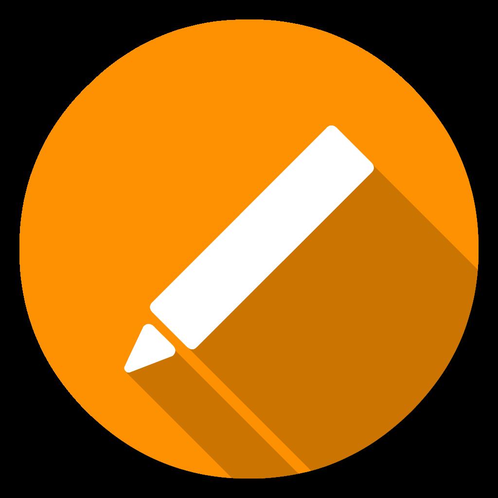 iWorks Keynotes flat icon