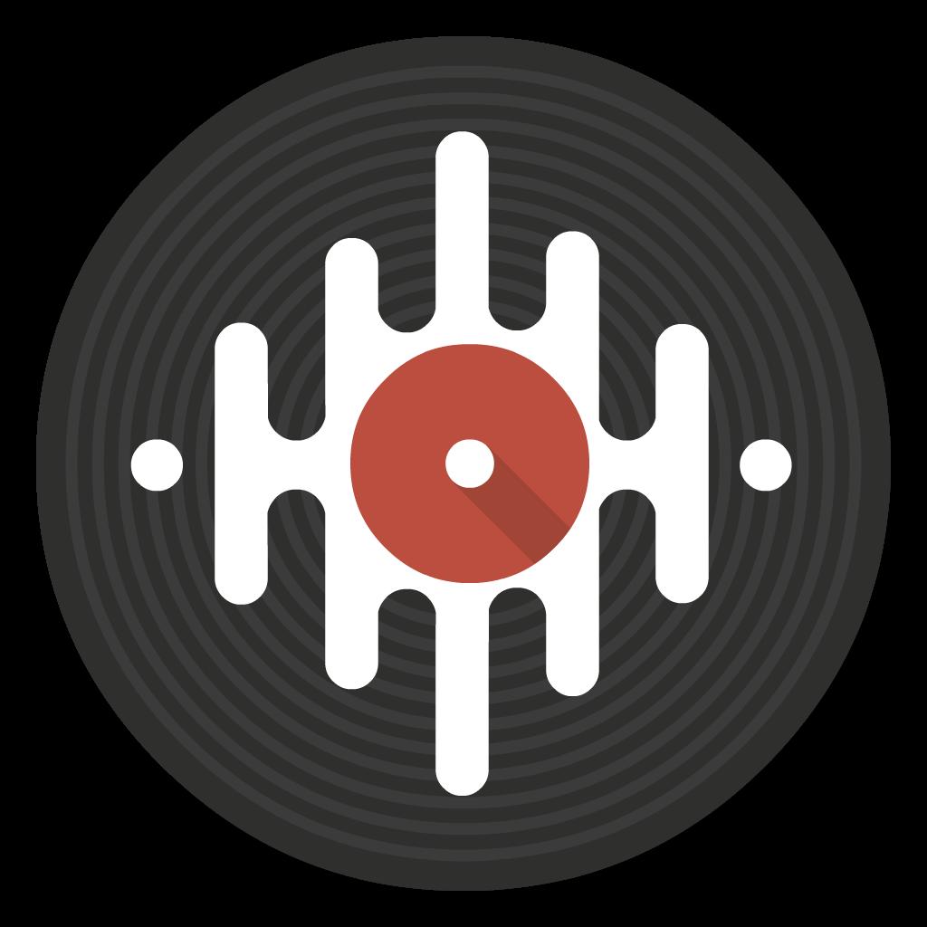 SeratoDJ flat icon