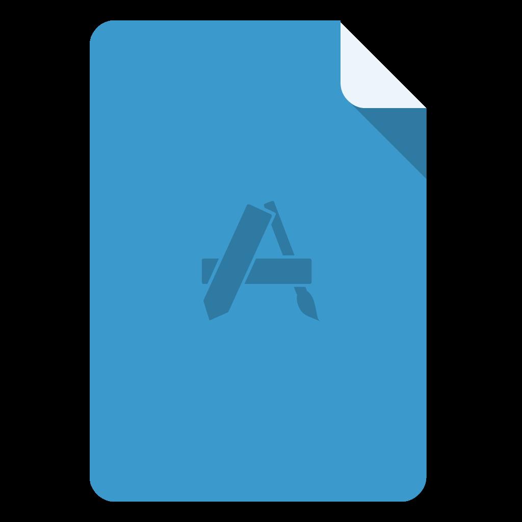 App Store flat icon