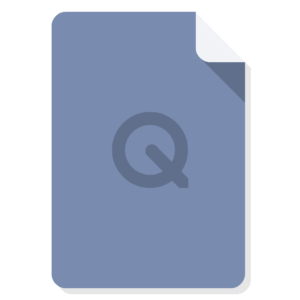 Quicktime flat icon