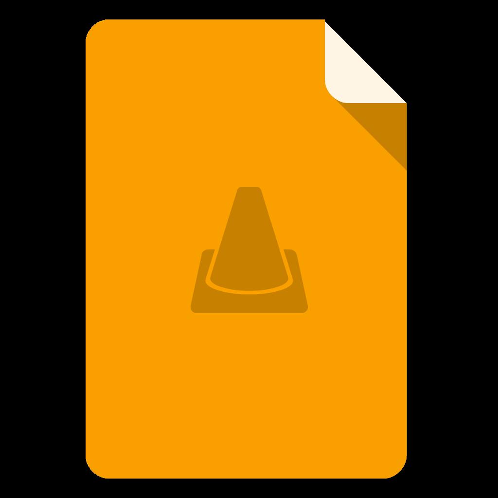 Videolan flat icon