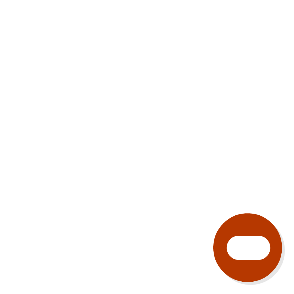 Badge Private flat icon