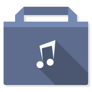 Music flat icon