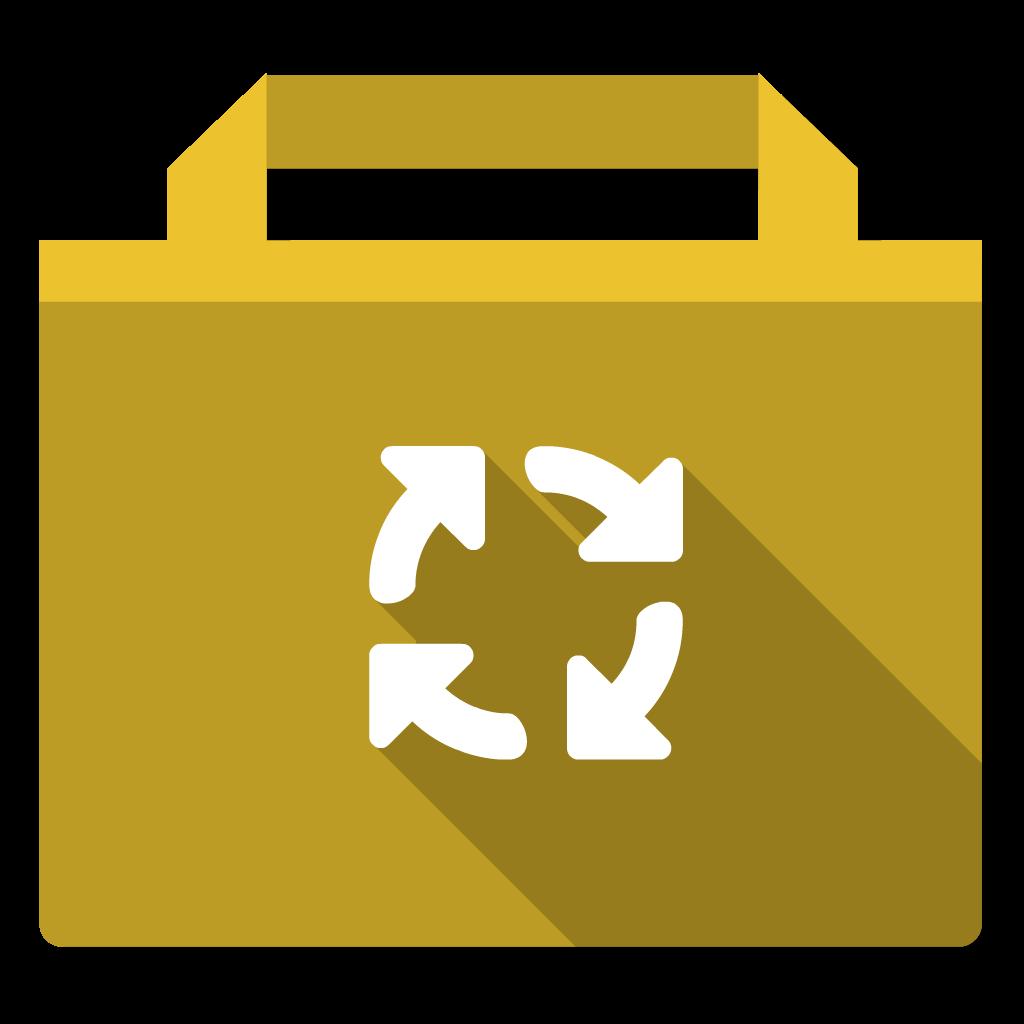 Public flat icon