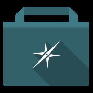Sites flat icon