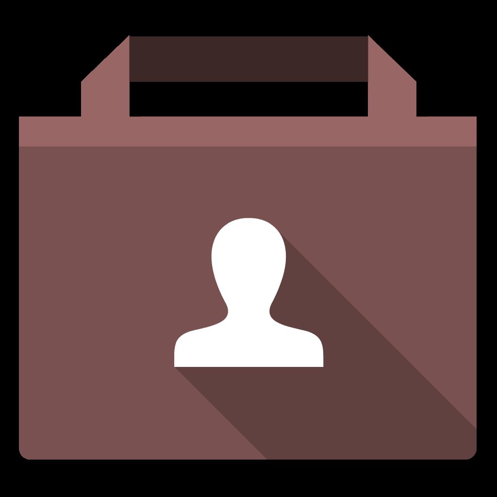 User flat icon
