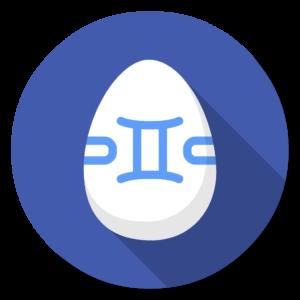 Gemini2 flat icon