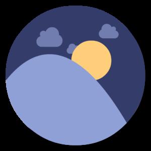 Flux flat icon