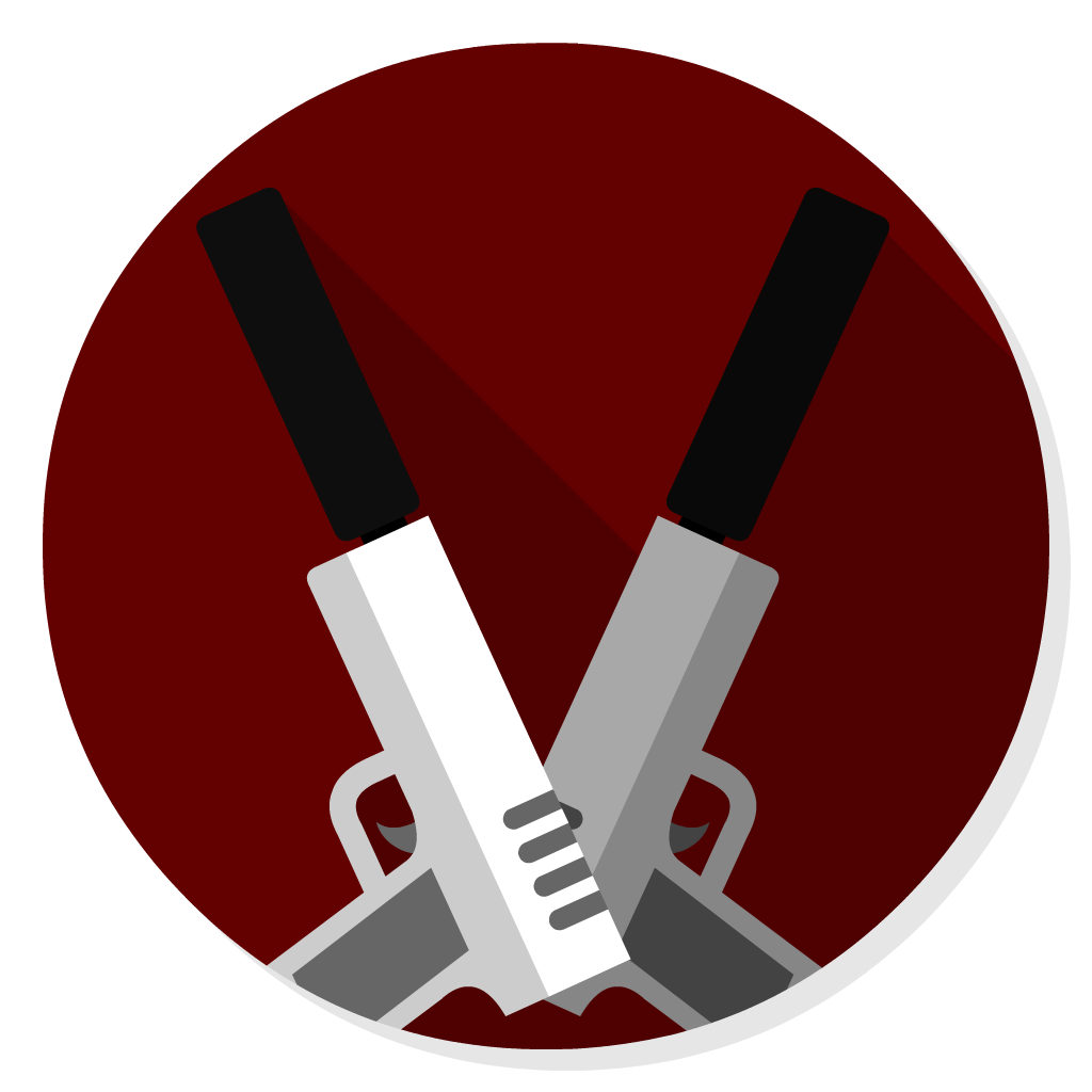 Hitman flat icon