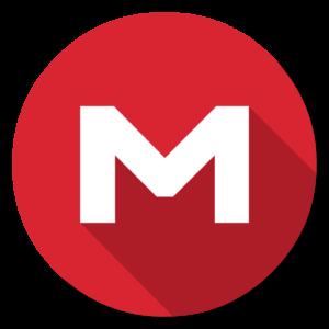 Mega flat icon