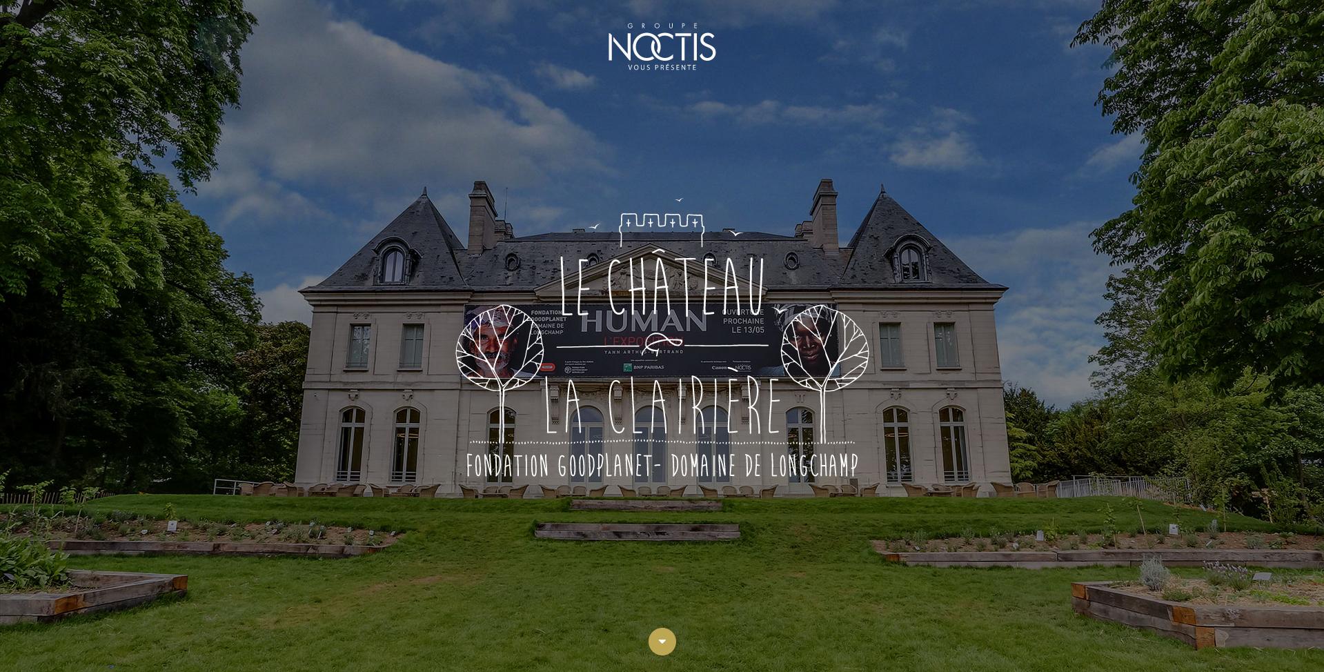 Chateau de Longchamp flat icon