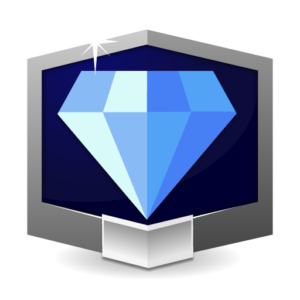 RANK DIAMOND ** flat icon
