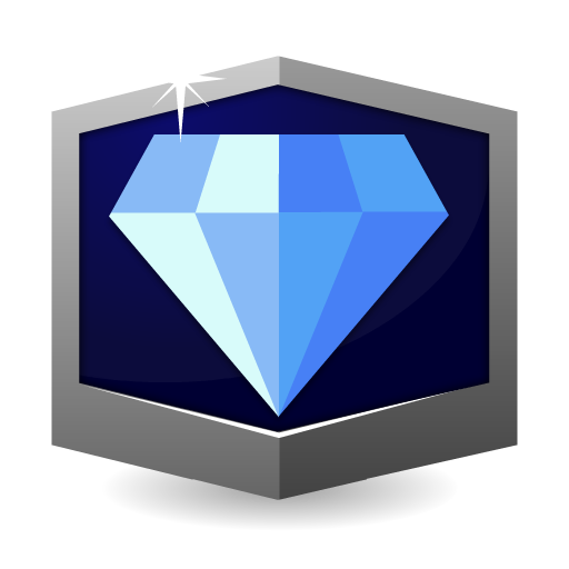 RANK DIAMOND * flat icon