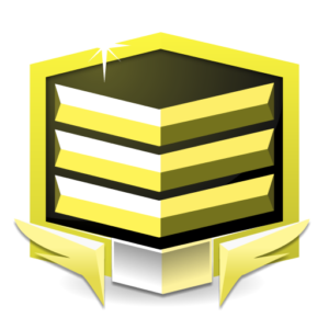 RANK GOLD *** flat icon