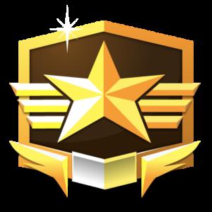 RANK GRANDMASTER *** flat icon