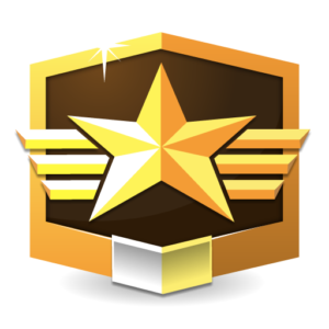 RANK GRANDMASTER ** flat icon