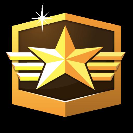 RANK GRANDMASTER * flat icon