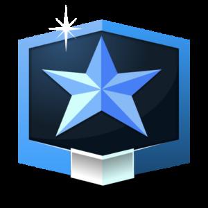 RANK MASTER ** flat icon