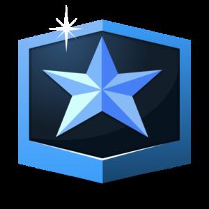 RANK MASTER * flat icon