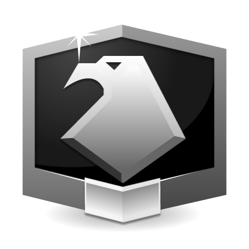 RANK PLATINUM ** flat icon
