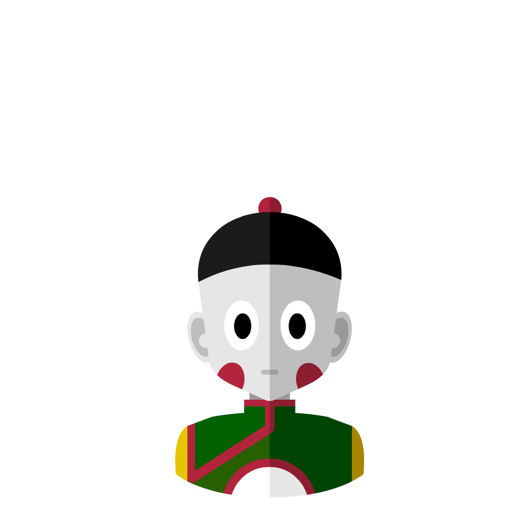 Chaozu flat icon