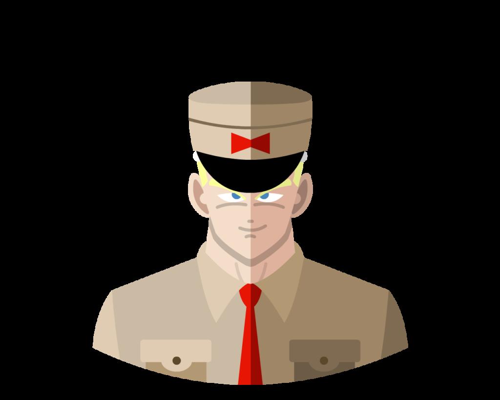 General Blue flat icon
