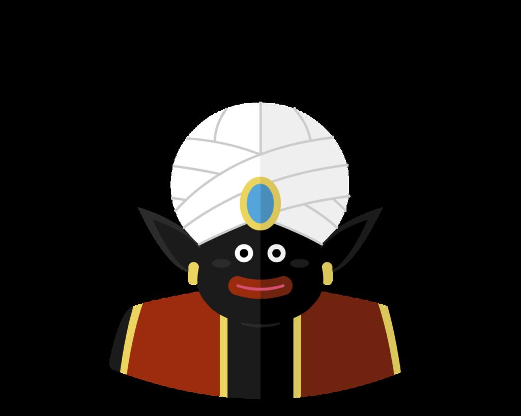 Mr Popo flat icon