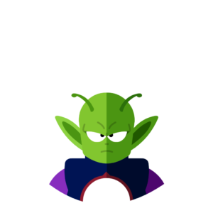 Piccolo Jr flat icon