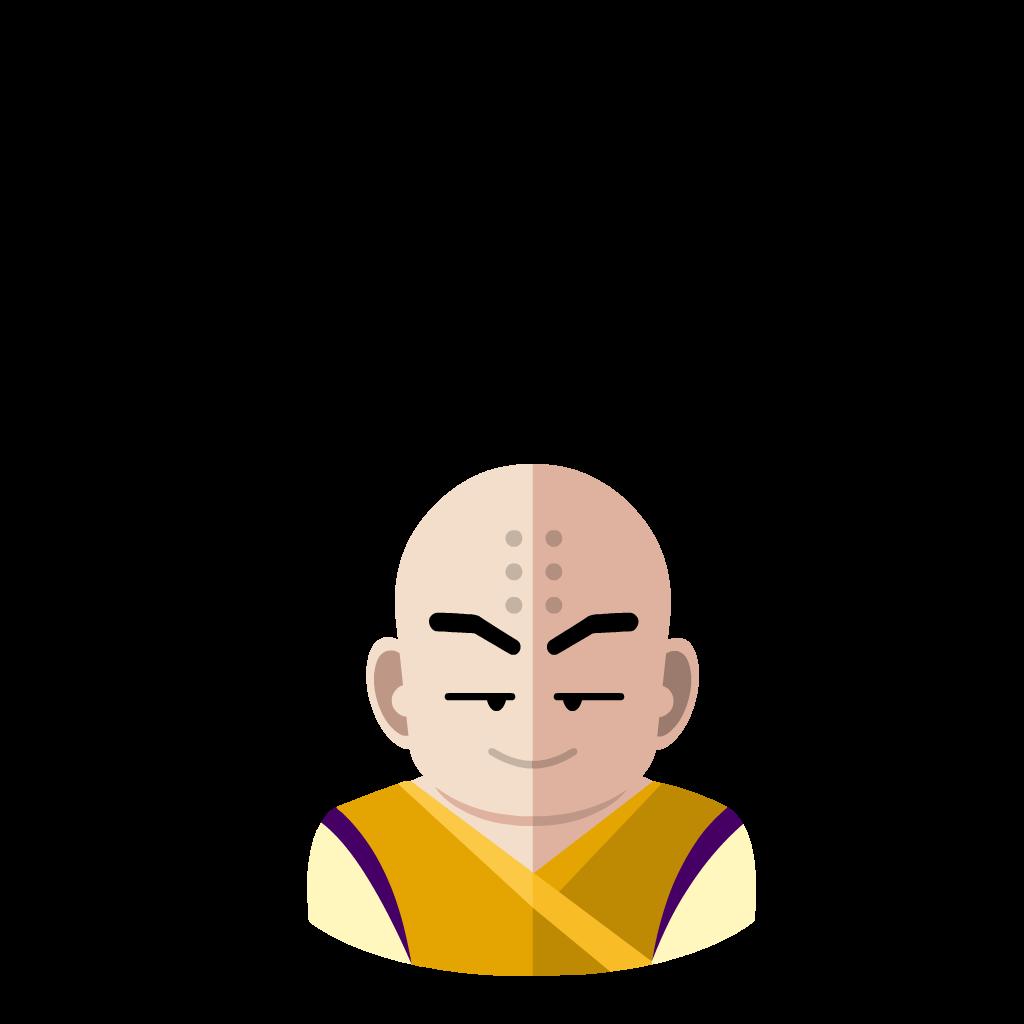 Krilin flat icon