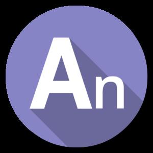 Adobe Edge Animate flat icon